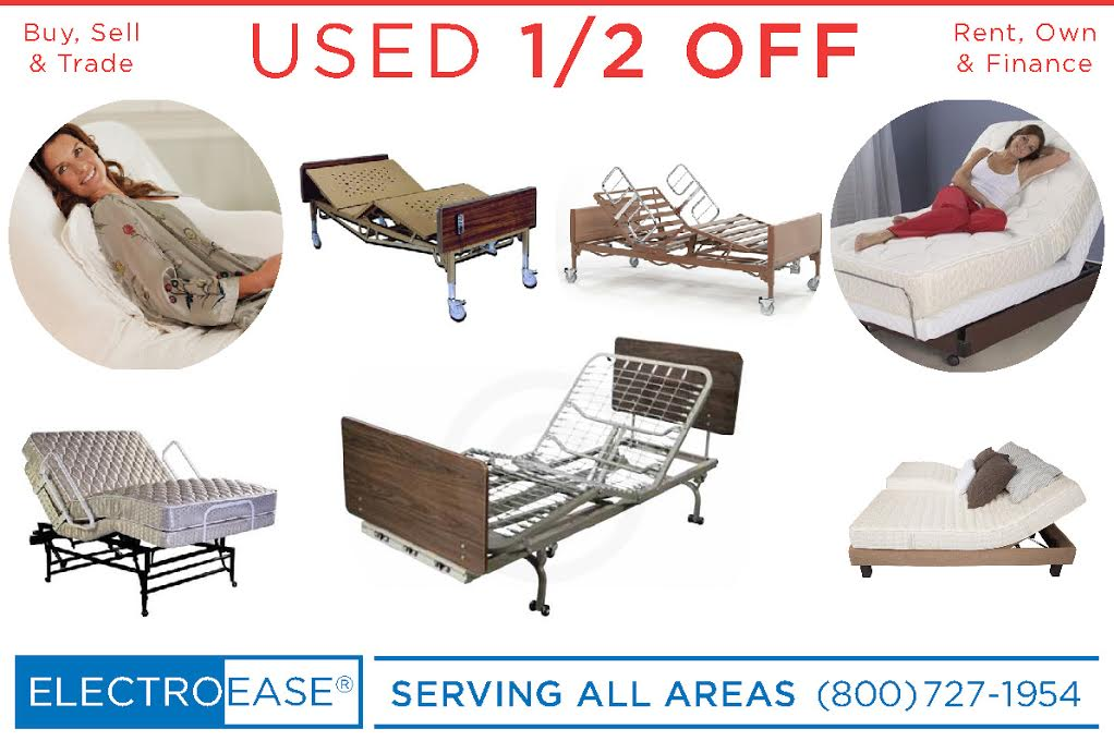 used hospital beds cheap hospitalbeds discount 3-motor hospitalbed discount 2 motor semi-electric medical bed hi low inexpensive high lo medicare mattress sale price cost