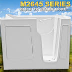 M2645 Series Walk In Tubs
