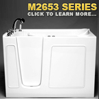 M2653 Series Walk In Tubs
