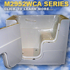 M2952WCA Series Walk In Tubs