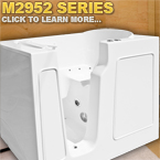 M2952 Series Walk In Tubs