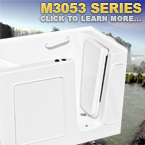 M3053 Series Walk In Tubs