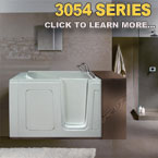 3054 Series Walk In Tubs