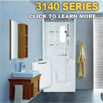 3140 Series Walk In Tubs