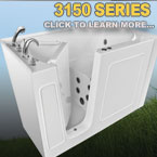 3150 Series Walk In Tubs