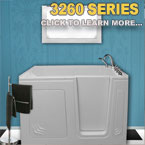 3260 Series Walk In Tubs