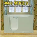 3660 Series Walk In Tubs