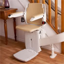 curve stair lift curved