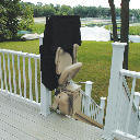 outdoor-stair lift
