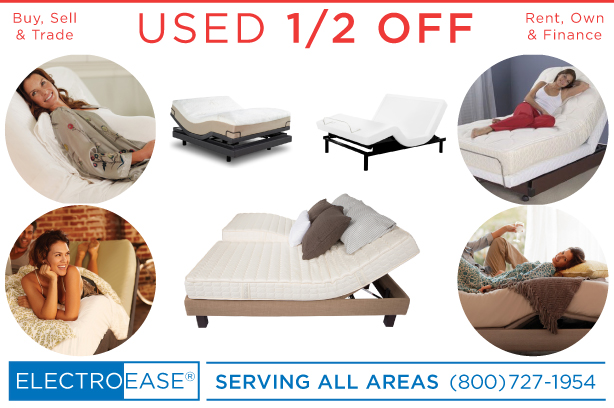 used adjustable beds recycled seconds electric hospital bed