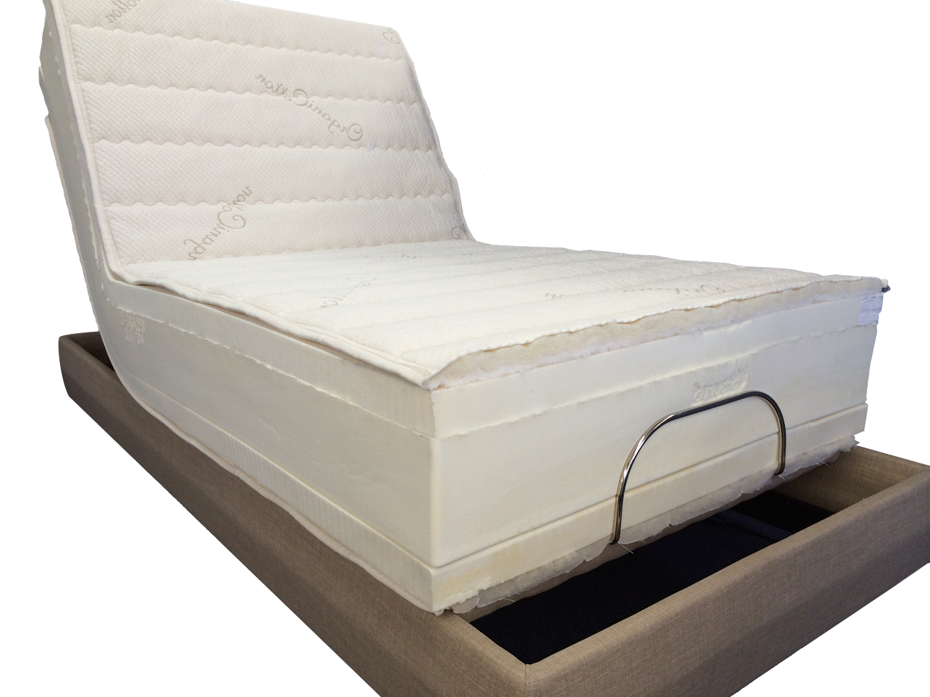 Adjustable-Beds seattle portland san francisco san jose sacramento san francisco bakersfield fresno san luis obispo latex natural organic beds foam 100% pure talalay latex