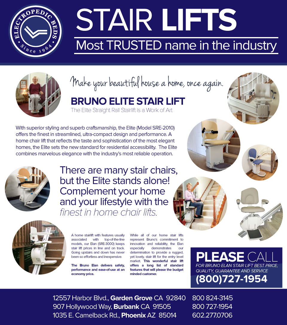 orange county bruno stairlifts elite