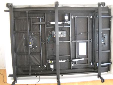 Reverie adjustable bed motorized frame for Adjustable bed motor replacement