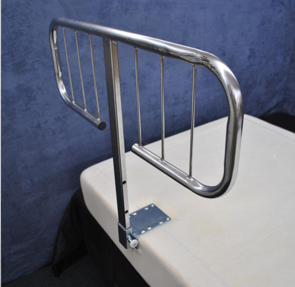 electropedic adjustable bed side rails