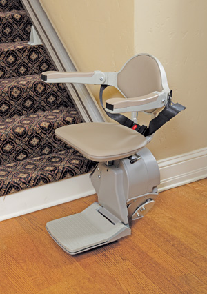 Elan Straight rails stairlift Model SRE-3000