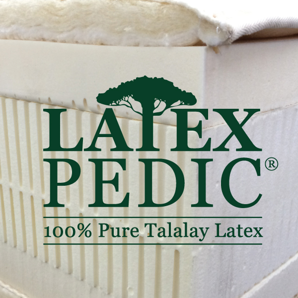 100% Pure Talalay Latex Foam Organic Beds