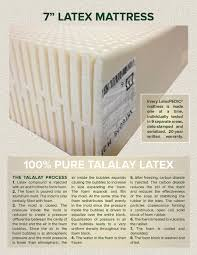 "7"" Latex Mattress"