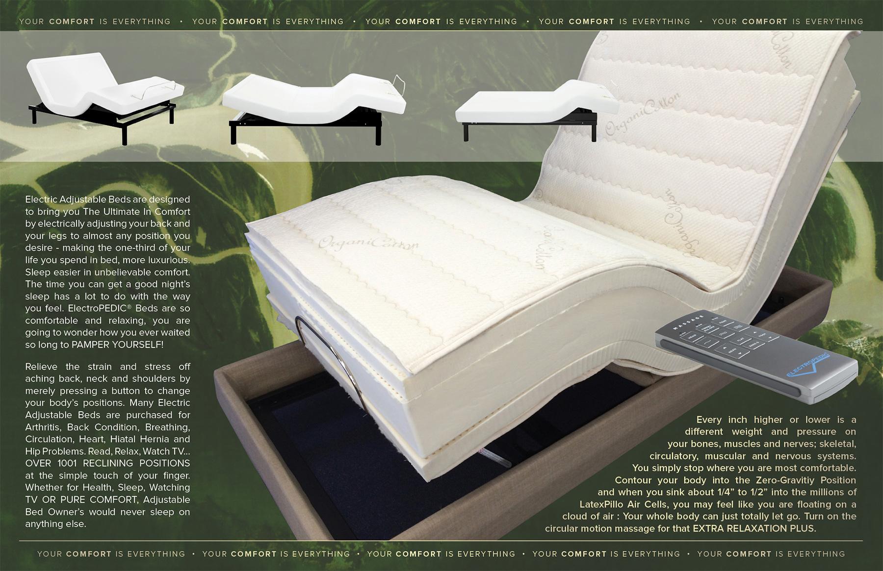 8q 7s 5d 3e reverie adjustable beds