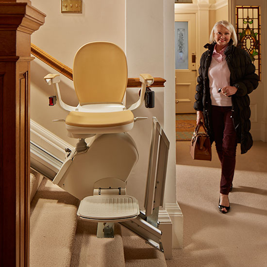 Acorn 120 Stairlift - designed for straight staircases