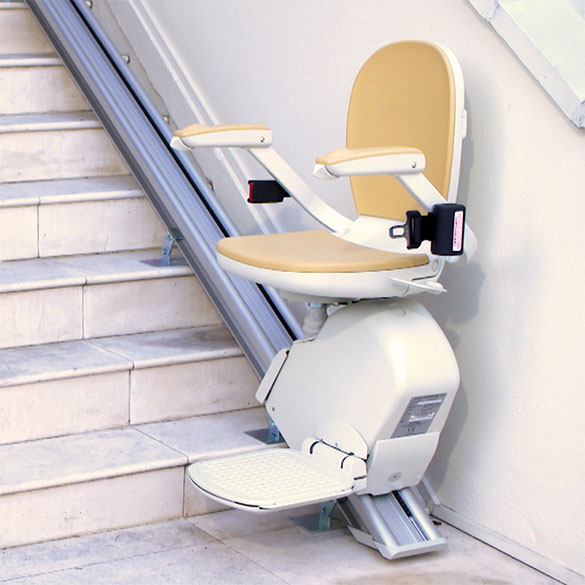 Acorn Outdoor Stairlift - designed for outdoor steps