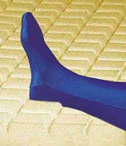 blue chip medical bariatric mattress heel wrap