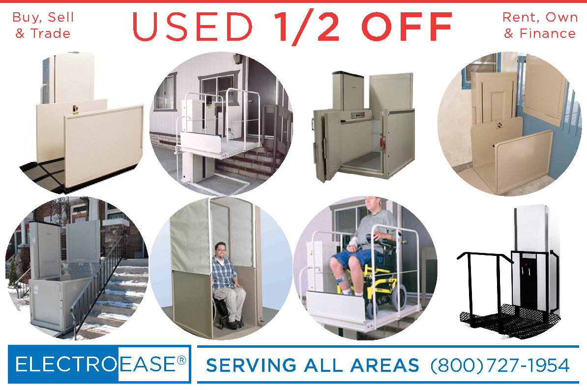 used electric wheelchair lift vpl bruno vertical platform wheel chair  mobility ada commerical handicapped porchlift. discount Adjustable Beds  electric beds  hospital beds  best