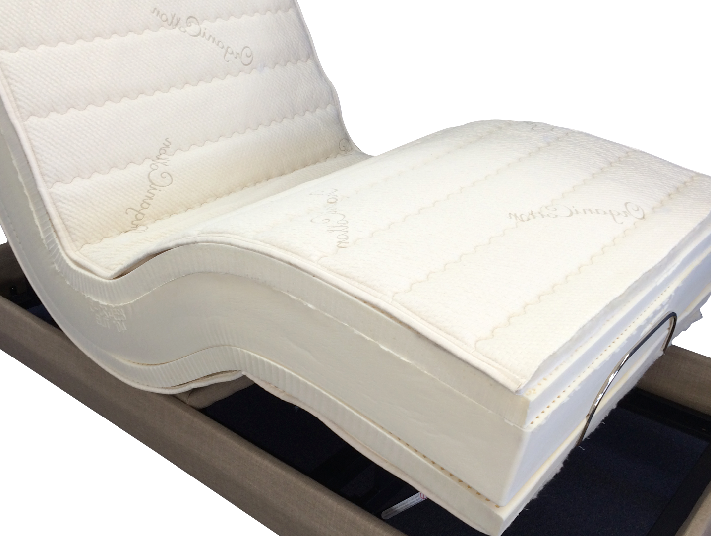 latex foam adjustable bed mattress