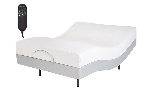 santa ana adjustable bed motorized frame power base by leggett & platt