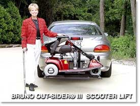 BRUNO OUTSIDER wheel chair lift