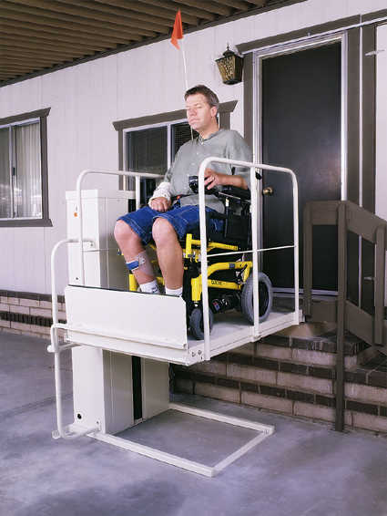 Electro-PEDIC® Wheelchair Elevators & Wheel Chair Lifts