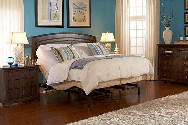 Comfort adjustable bed furnitures comfortable for How to make a nightstand higher