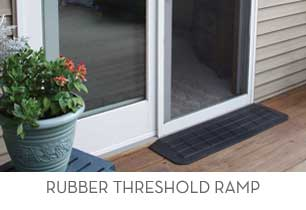 AlumiRamp Rubber Threshold