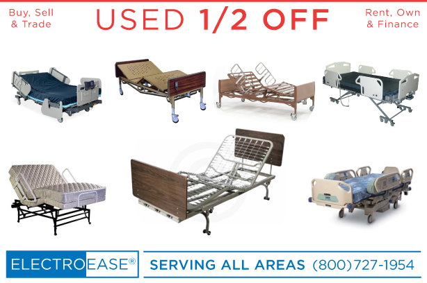 Used Bariatric Heavy Duty Extra Wide Electric Hospital Beds