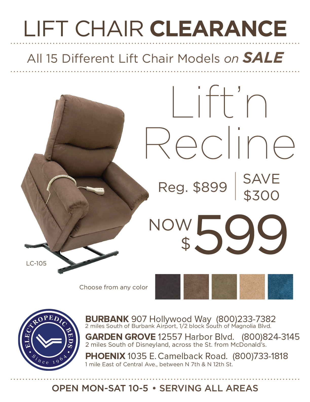 sale price cost lift chair discount inexpensive affordable cheap