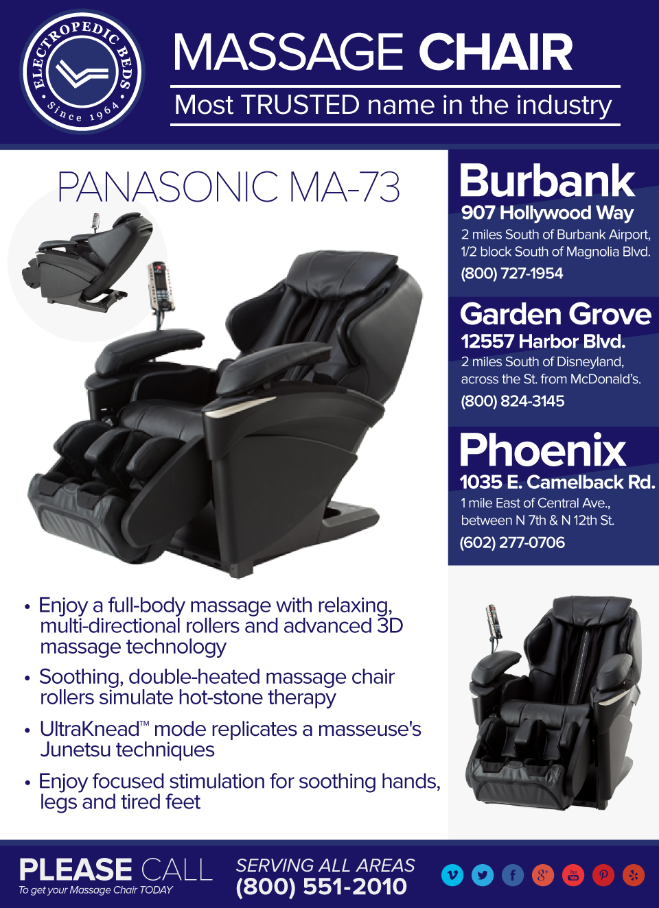 Real Pro ULTRA 3D Massage Chair EP-MA73