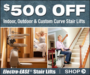 San Francisco Bay Stairlifts Stores Sells Acorn Stair Lift