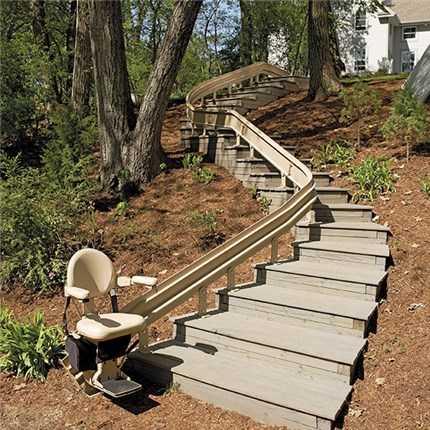 Bruno S Line Of Straight Rails Stair Lifts And Custom