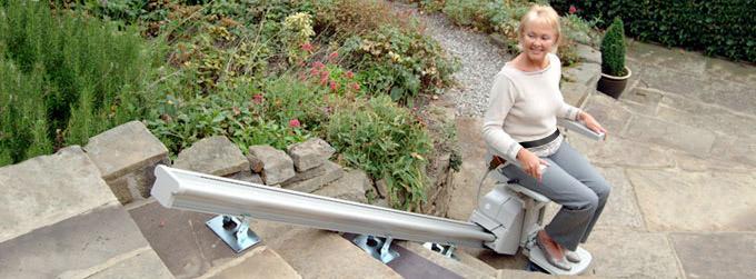 San Jose Wheelchair Elevator Vertical Platform stair Lifts porch