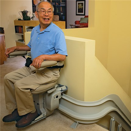 Outside Stairlift Exterior Stair Lifts Bruno Outdoors