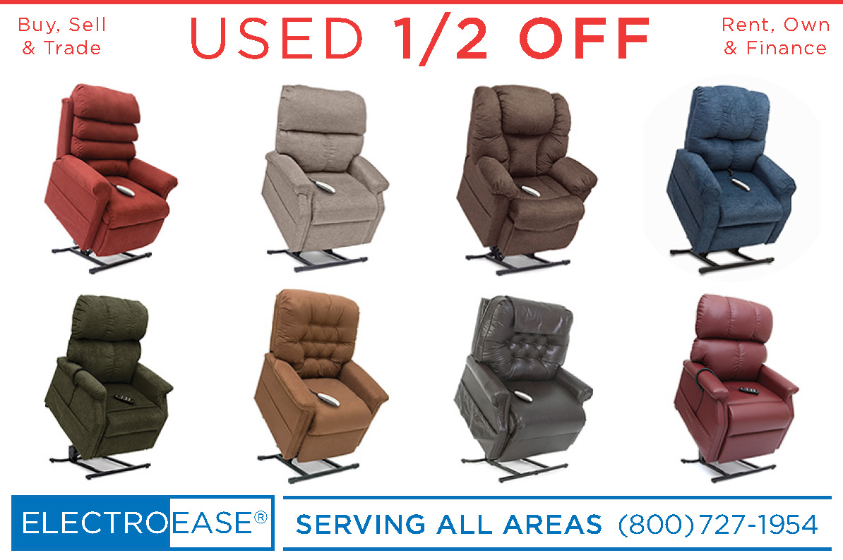 used seat lift chair recliners