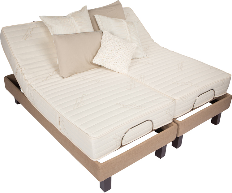 Soft Quality Natural Mattresses Latex Adjustable Beds