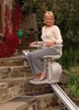 exterior outdoor electric acorn stair lifts