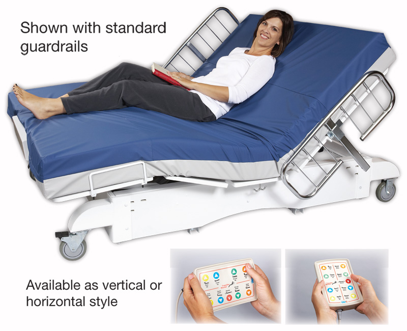 The Hospital Grade Valiant HD Hospital Bed