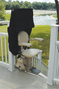 exterior stairlift
