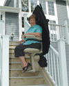 Bruno Electra-Ride Elite Outdoor Stairlift