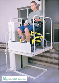 Macslift Wheelchair Elevators Wheel Chair Lifts
